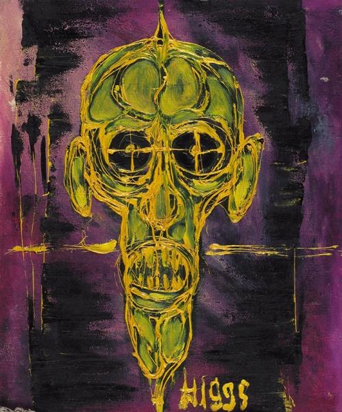 Хейдиз Лена. «Череп корякского шамана». 1995. Холст, масло. 50×60см.