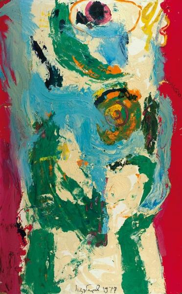 Зубарев Владислав Константинович (1937–2013) «Совесть». 1977. Картон, масло, 80,3×50,5см.