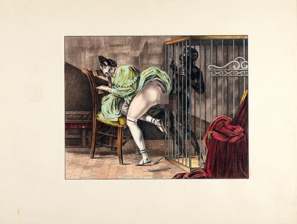 [18+отлюбимого поэта Пушкина] [Мюссе, А. де] A.D.M. Гамиани, или Две ночи сладострастия. [Gamiani oudeux nuits d'exces]. Париж: Аux depens d'un amateur, 1926.