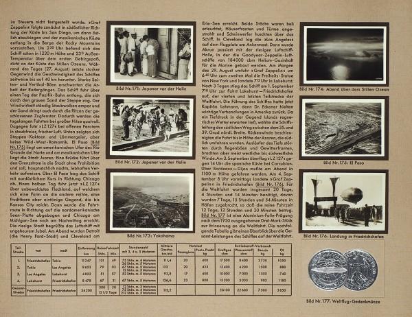 Цеппелин. Полеты повсему миру: отпервого дирижабля 1899 года допассажирского судна LZ127 «Граф Цеппелин» 1932. В2кн. [Zeppelin-Weltfahrten: vom ersten Luftschiff 1899 bis zuden Fahrten des LZ127 «Graf Zeppelin» 1932. Нанем.яз.]. Германия [Дрезден], 1933.