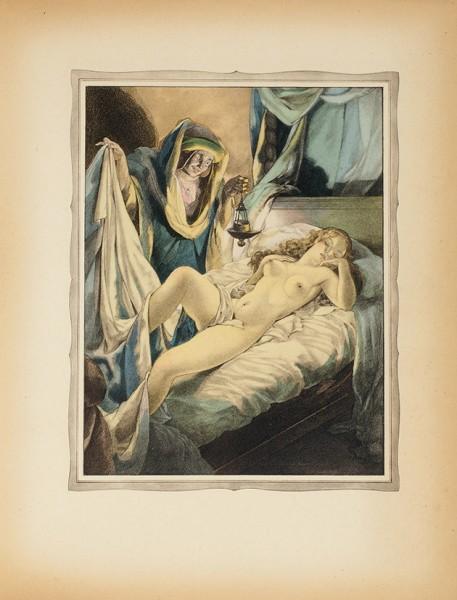 [Галантная эротика Умберто Брунеллески] Боккаччо. Декамерон. [Нафр.яз.]. В2т. Т. 1-2. Париж: Gibert Jeune-Librairie d'amateurs, 1934.