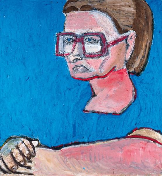 Боркунов Павел. «Бабушка». 2008. Холст, масло. 120x120см.