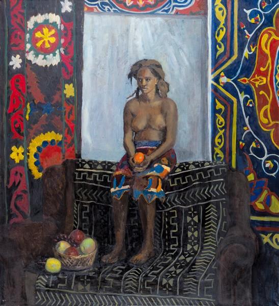 Егорова Александра. «Ормелла». 2017. Холст, масло. 110x111см.