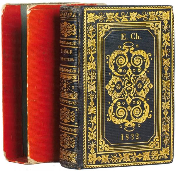 [Роскошный переплет для библиофильских нужд] Ангел-проводник. [L'ange conducteur. Нафр.яз.] Брюссель, 1829.