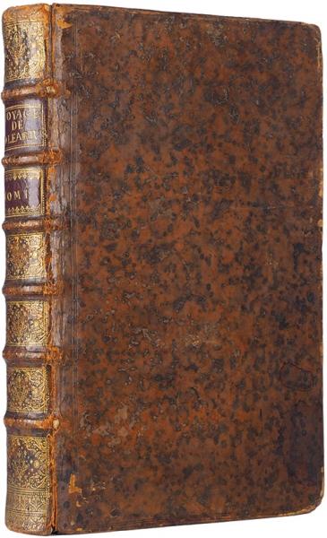 [Первое издание срисунками Н.Витсена] Олеарий, А.Весьма любопытное путешествие, совершенное вМосковию, Тартарию иПерсию ... [Voyages tres-curieux ettres-renommez, faits enMoscovie, Tartarie etPerse par leSr. Adam Olearius, Bibliothecaire duDuc deHolstein etMathematiken desaCour... Нафр.яз.]. В2ч. Ч. 1-2. Лейден [Голландия]: Изд. Питер ван дер Аа, 1719.