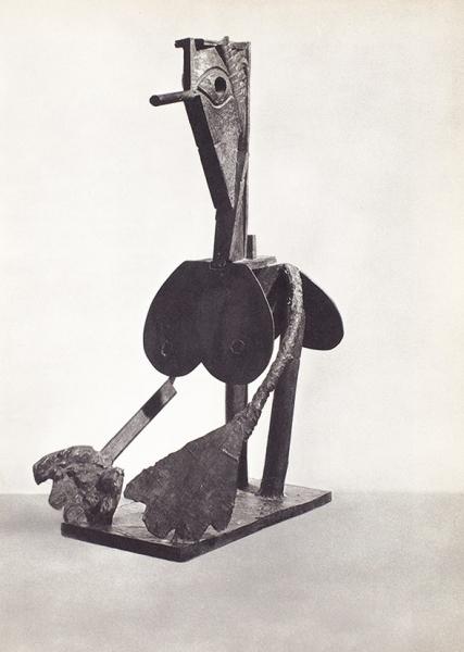 [Савтографом художника] Скульптура Пикассо. Нью-Йорк: Музей современного искусства, 1967.