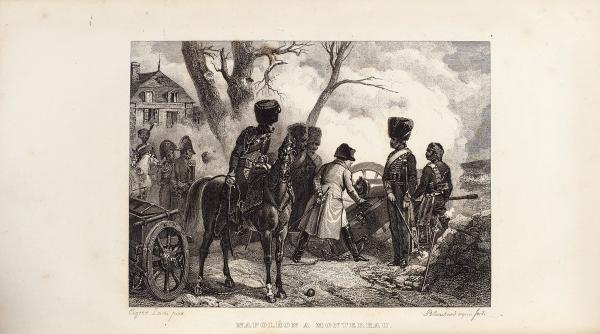 [50гравюр икарт] Норван, Ж.М., барон деМонбретон. История Наполеона. [Нафр.яз.] В4т. Т. 1-4. Париж: Ambroise Dupont, 1834.