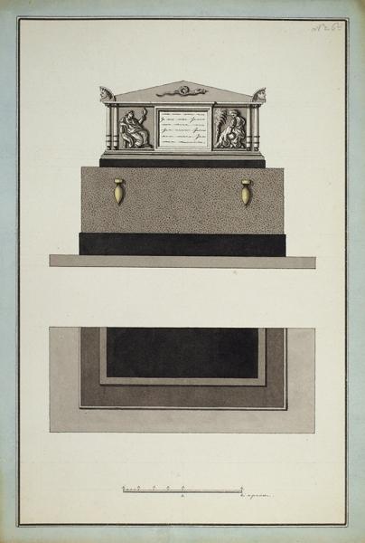 Рерберг, Ф.И. Альбом оригинальных рисунков надгробий. [1890-1900-е гг.].