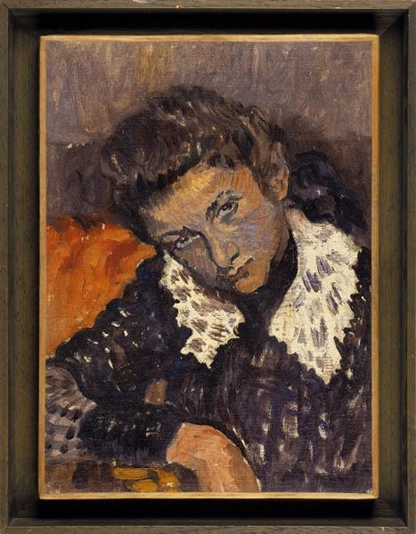 Отт Люсьен (1870–1927) «Портрет дочери». 1914. Холст, масло, 39,2x28,8см.