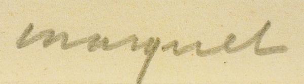 Марке Альбер (Albert Marquet) (1875–1947) «Нотр-Дам-де-Пари иСена (Notre-Dame deParis etlaSeine)». Лист изсерии «Берега Сены (Les Bords delaSeine)». 1929. Бумага, сухая игла, 28x37,8см (лист), 22,5x30,5см (оттиск).