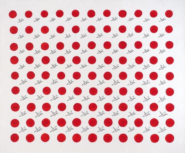 Алый Арсений. «Япония2.0». 2019. Холст, акрил. 50x60см.