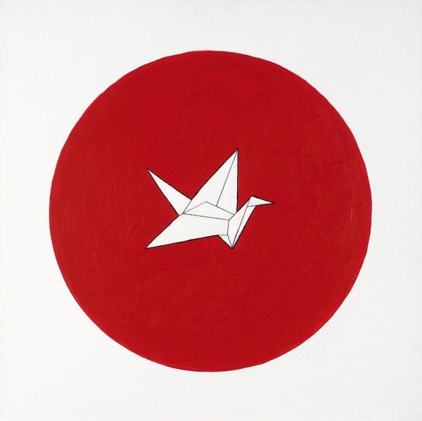 Алый Арсений. «Япония». 2019. Холст, акрил. 50x50см.