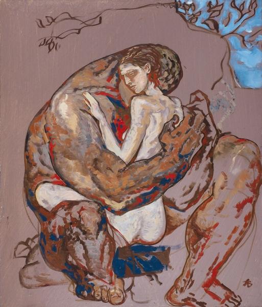Березина Елизавета. «Весна». 2013. Холст, масло. 70x60см.