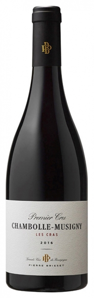 Chambolle-Musigny 1er Cru «Les Cras» Pierre Brisset, red dry, 2016, 13%, 0,75л.