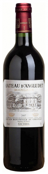 Chateau d'Angludet, red dry, 2014, 13%, 0,75 л.