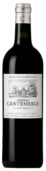 Chateau Cantemerle 2013, red dry, 13%, 0,75л.