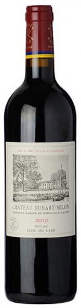 Chateau Duhart-Milon 2012, red dry, 13,5%, 0,75л.