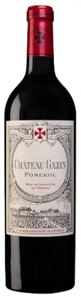 Chateau Gazin 2013, red dry, 13%, 0,75 л.