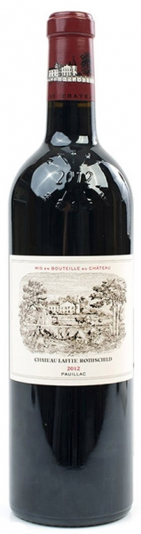 Chateau Lafite Rothschild 2012, red dry, 12,5%, 0,75л.