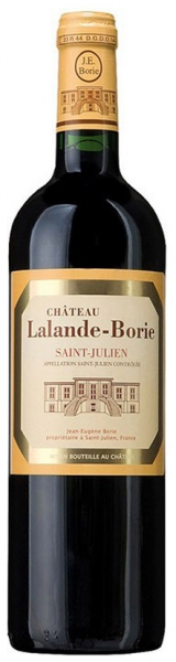 Chateau Lalande-Borie, red dry, 2013, 14%, 0,75л.