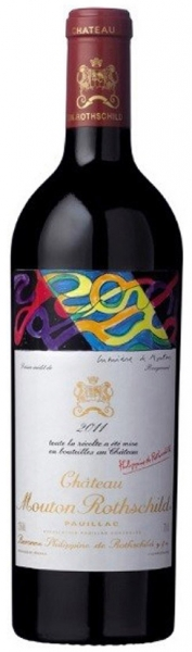 Chateau Mouton Rothschild 2011, red dry, 12,5%, 0,75л.