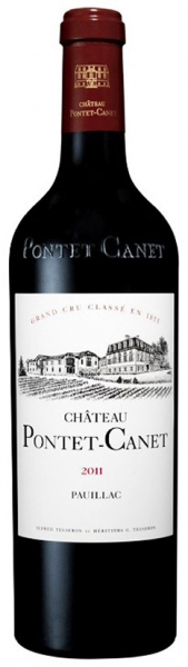 Chateau Pontet-Canet 2011, red dry, 13,5%, 0,75л.