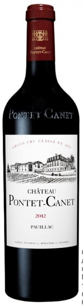 Chateau Pontet-Canet 2012, red dry, 13,5%, 0,75л.