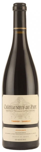 Chateauneuf-du-Pape Tardieu-Laurent, red dry, 2016, 14,5%, 0,75л.