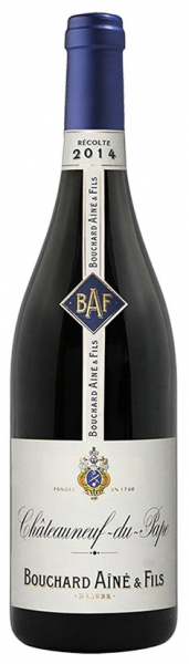 Chateauneuf-du-Pape Bouchard Aine &Fils, red dry, 2015, 14%, 0,75л.