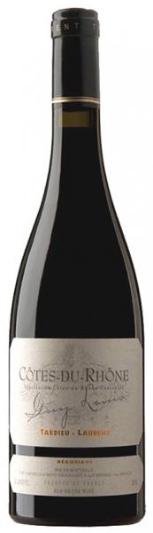 Cotes-Du-Rhone Guy Louis Tardieu-Laurent, red dry, 2016, 14,5%, 0,75л.