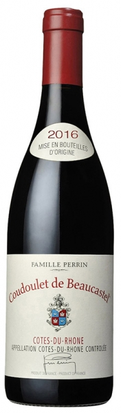 Coudoulet deBeaucastel Famille Perrin, red dry, 2016, 14,5%, 0,75л.