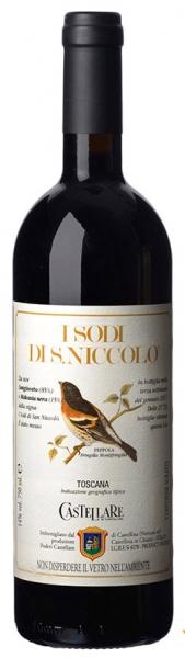ISodi diSan Niccolo, red dry, 2015, 14,5%, 0,75л.