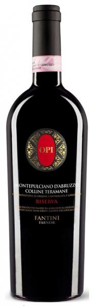 Opi Montepulciano d'Abruzzo Riserva, red dry, 2012, 14%, 0,75л.