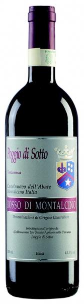 Rosso diMontalcino Poggio DiSotto, red dry, 2014, 13,5%, 0,75л.
