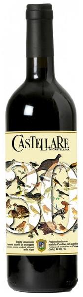 Trenta Vendemmie Castellare DiCastellina, red dry, 2007, 13,5%, 0,75л.