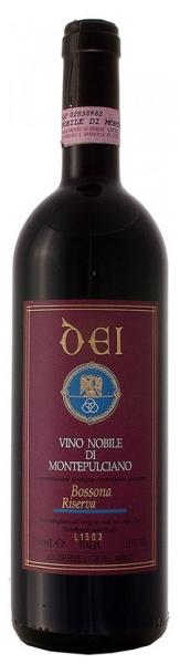 Vino Nobile diMontepulciano Riserva Bossona Dei, red dry, 2013, 15%, 0,75л.