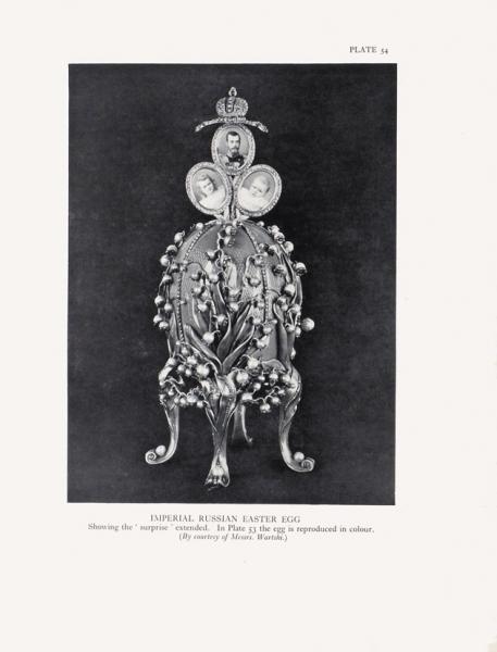 Бэинбридж, Г.Ч. Питер Карл Фаберже. Его жизнь итворчество. [Bainbridge, H.C. Peter Carl Faberge. His life and work. Наангл.яз.]. Лондон: B.T. Batsford LTD, 1949.