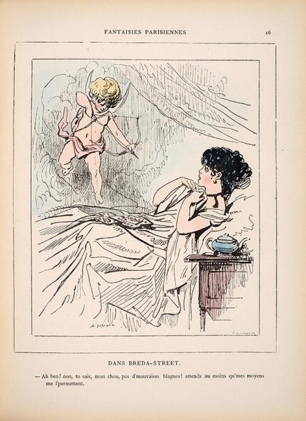[ИзЦарскосельской библиотеки] Дух женщин. [L'esprit des femmes/ par A.Grevin. Нафр.яз.]. Париж: Dusacq etC°, кон. XIX— нач. ХХв.