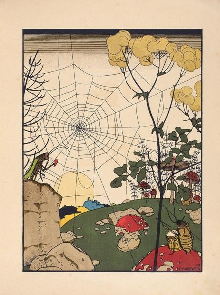 Сказки: Теремок. Мизгирь/ рис. Г.Нарбута. М.: И.Кнебель, [1910].