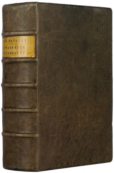 Конволют изчетырех научных трудов немецкого алхимика Георга Вольфганга Веделя.