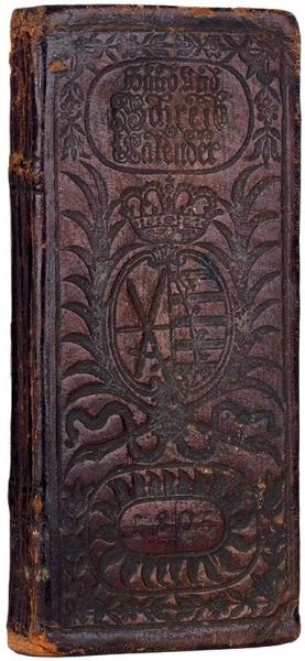 Три лейпцигских издания: календарь, путеводитель, молитвенник.