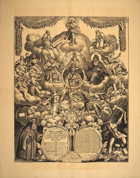 Из«Русских народных картинок» Ровинского: «Варлам Кассовский». Бумага, литография.1881.