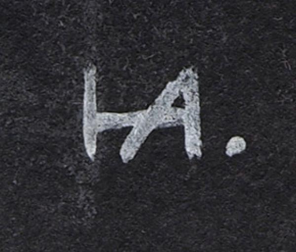 Айзенберг Нина Евсеевна (1902–1974) Эскизы костюмов кспектаклю «Чай». 4листа.1933. Бумага накартоне, гуашь, 33x22,5см.