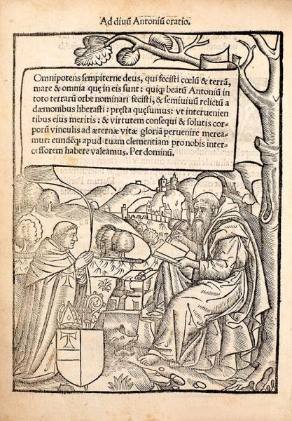 [Ниодна изрукописей несохранилась] [Шампье, С.] Святое послание. [Champier, S.Epistol[a]e sanctissimoru[m]: sequenti codice conte[n]tae. Налатыни]. [Париж]: Vaenundantur inaedibus Iodoci Badii &Io. Parui, [1516].