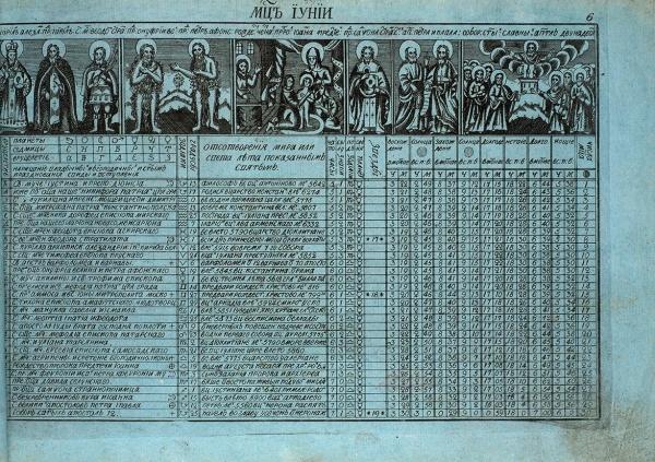 Книга именуемая Брюсовской календарь. [Кон. XVIII— нач. XIXв].