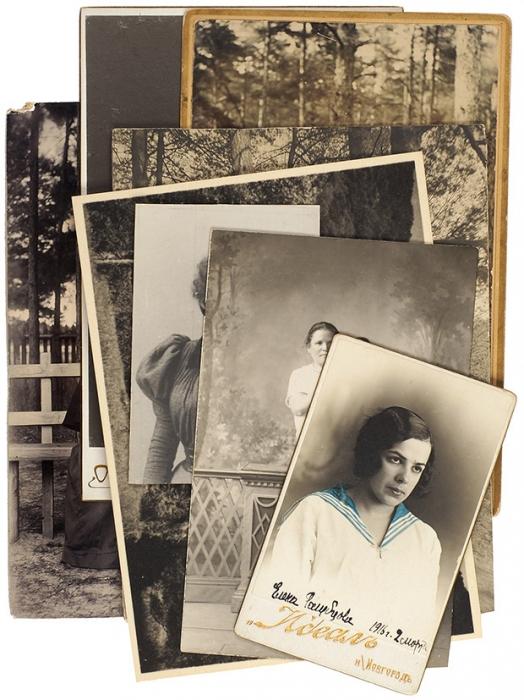 [Кржижановский идругие] Подборка из8-ми фотографий начала XXвека. М., 1900-е.