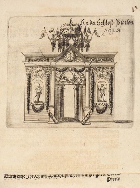 Конволют изпяти книг оСконской войне (1675-1679). Сгравюрами.