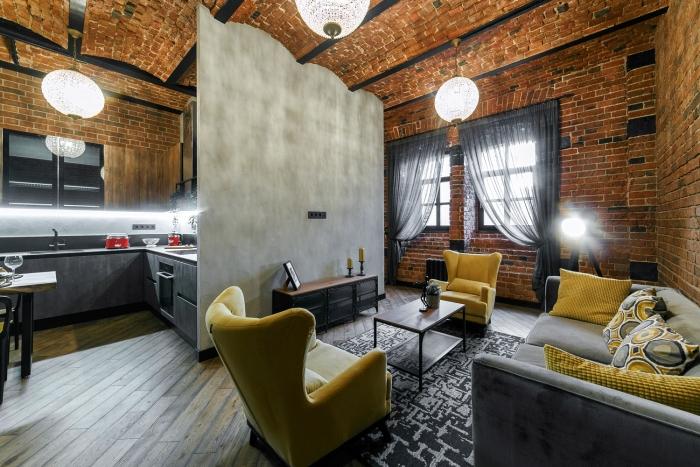 Квартира 50кв. м— Эксклюзивные loft-апартаменты вособняке уКремля. ЖКWine House, Садовническая улица, 57.