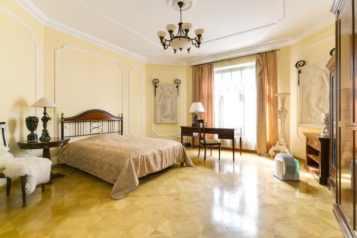 Квартира 192кв. м— Квартира вклубном доме втихом арбатском переулке. Клубный дом наАрбате, ул. Арбат, 18с1.