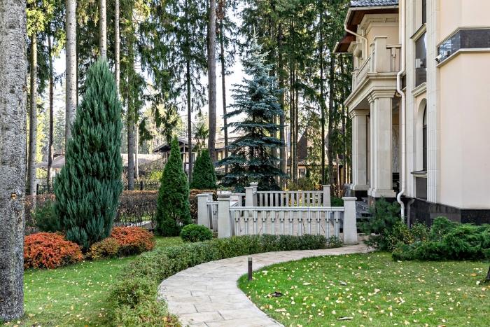 Дом 781кв. м— Роскошный загородный дом налесном участке Коттеджный посёлок Горки-7, Пятницкое шоссе, 7км отМКАД.